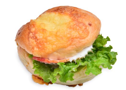 チーズベーグルサンド