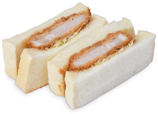 三元豚のサンド
