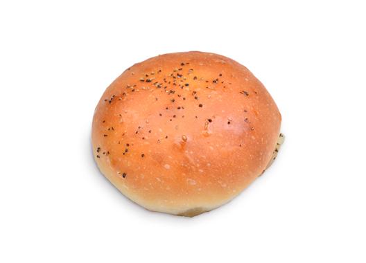 モッツァレラとドライトマトとベーコンのパン