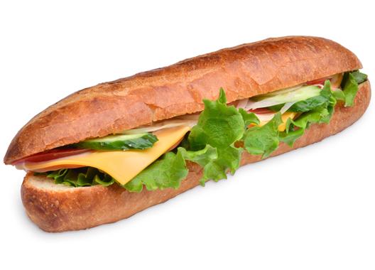 新鮮野菜とハムのカスクート